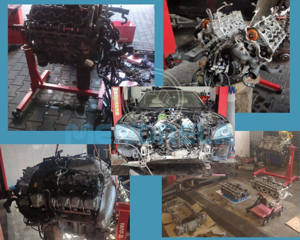 Remont silnika cz2